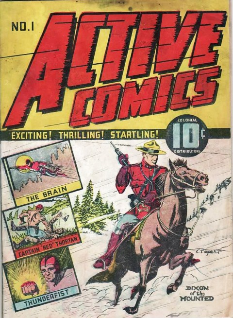 Active Comics No. 1 (Feb. 1942)