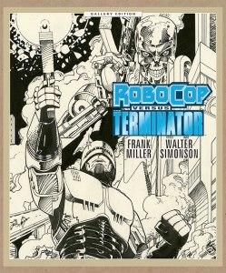 Robocop Versus The Terminator Gallery Edition cover