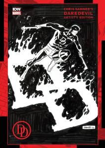 Chris Samnee's Daredevil Artist's Edition cover prelim