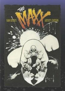 Sam Kieth's The Maxx Artist's Edition prelim cover