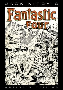 Jack Kirby's Fantastic Four Artist's Edition cover prelim