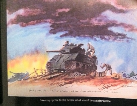 Nick Cardy Tank at War