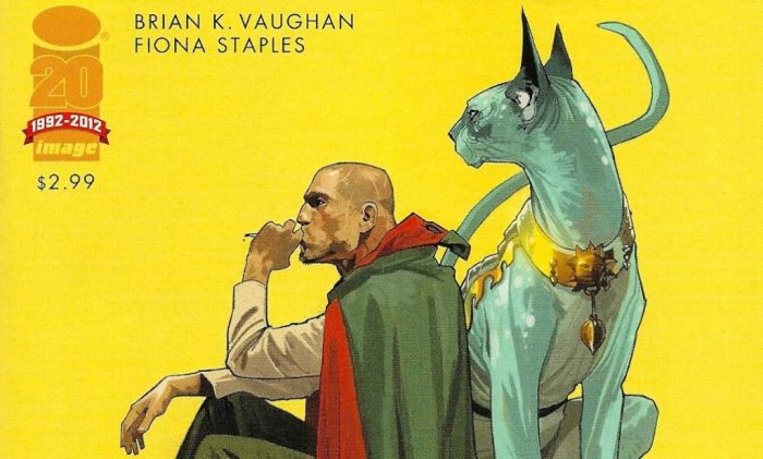 Saga cover to issue number 4
