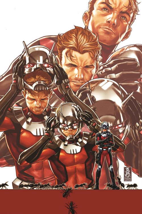 ant man comic book cover