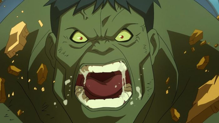 Hulk might be angry