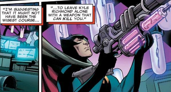 Because he's Ba-- er, Nighthawk!