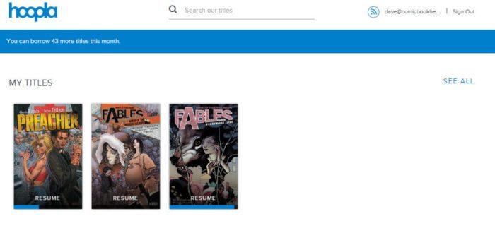 hoopla digital comics reading