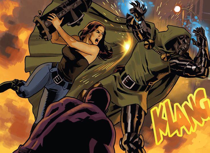 Jessica Jones vs. Doctor Doom