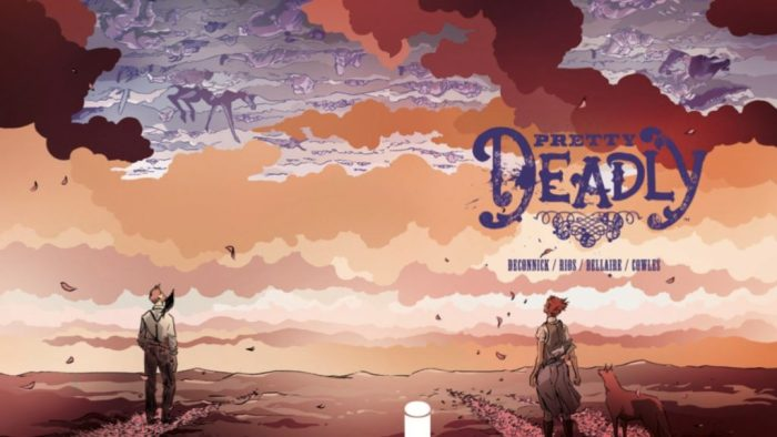 Comic Book art from Pretty Deadly