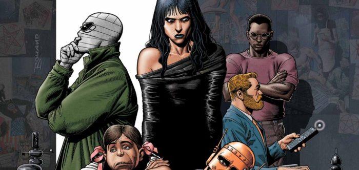 Doom Patrol comics from Vertigo