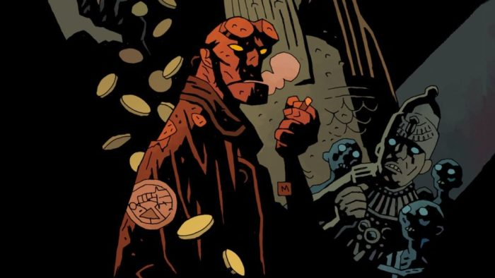 new comic book series hellboy in hell