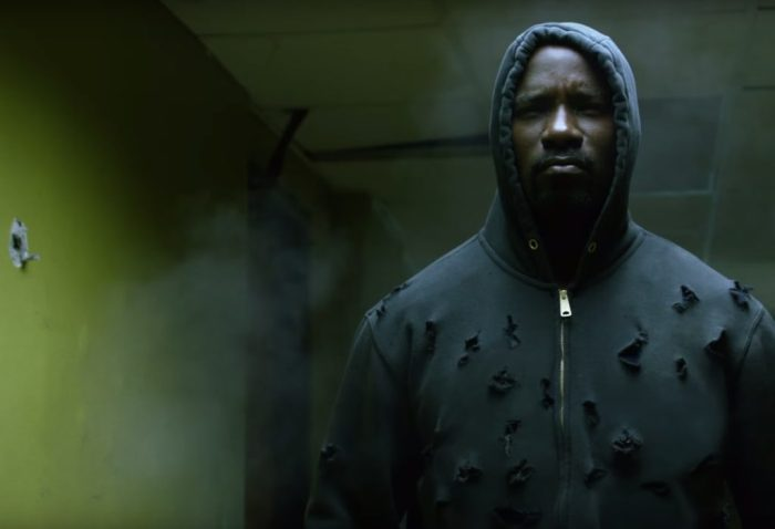 Luke Cage from Marvel on Netflix