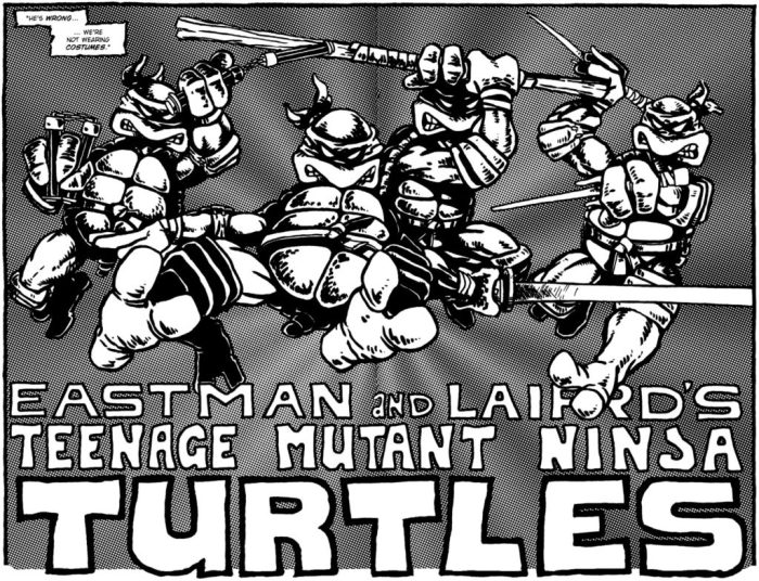 Eastman and Laird's original Turtles comics