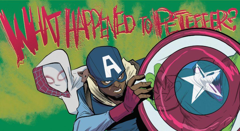 Spider-Gwen comic books