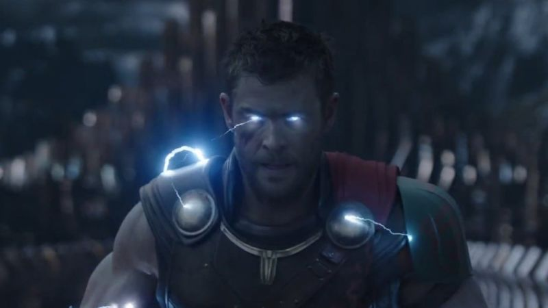 Thor with some sweet lightning powers