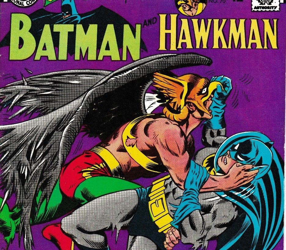 Hawkman and Batman team up in Brave and the Bold #70