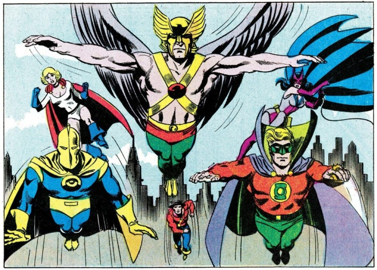 Hawkman and the Justice Society