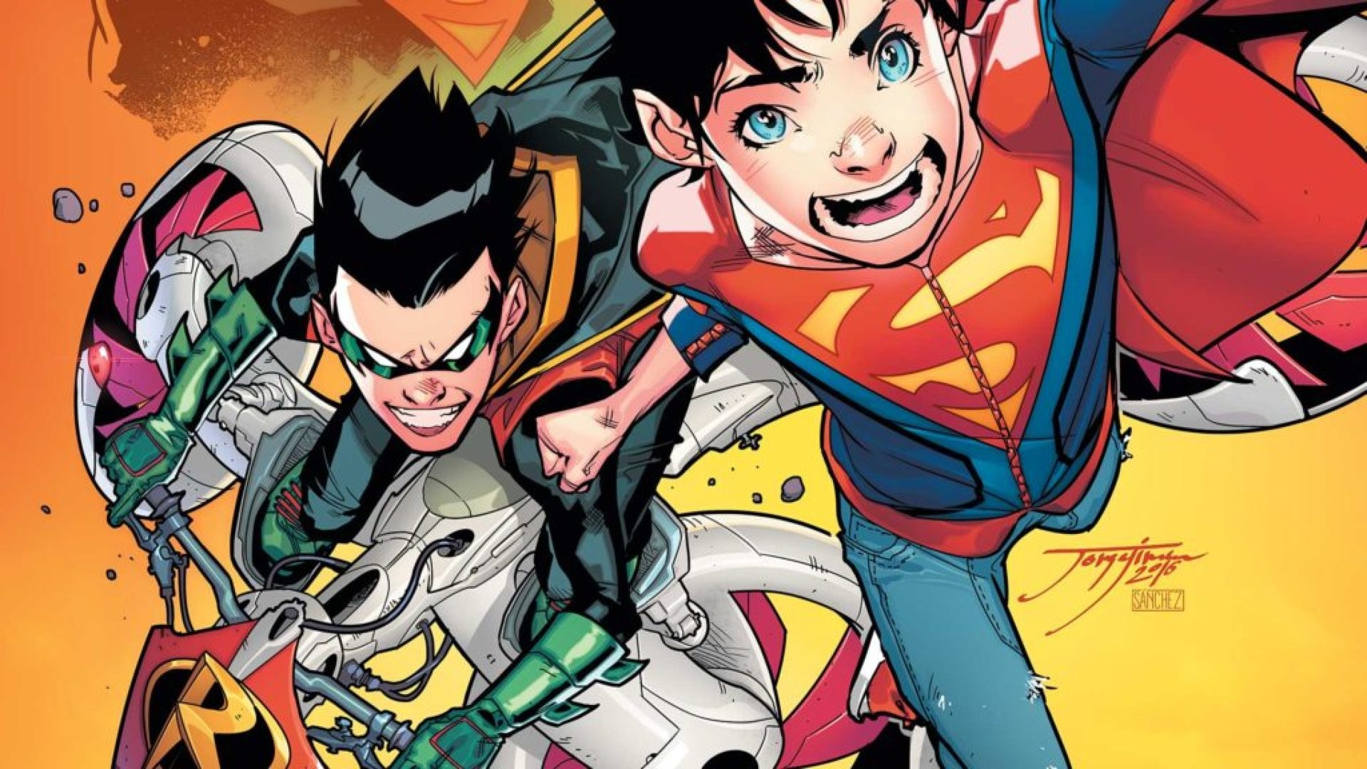 Jon and Damian the Super Sons of DC Comics