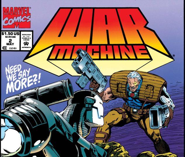 War Machine gets his own solo series