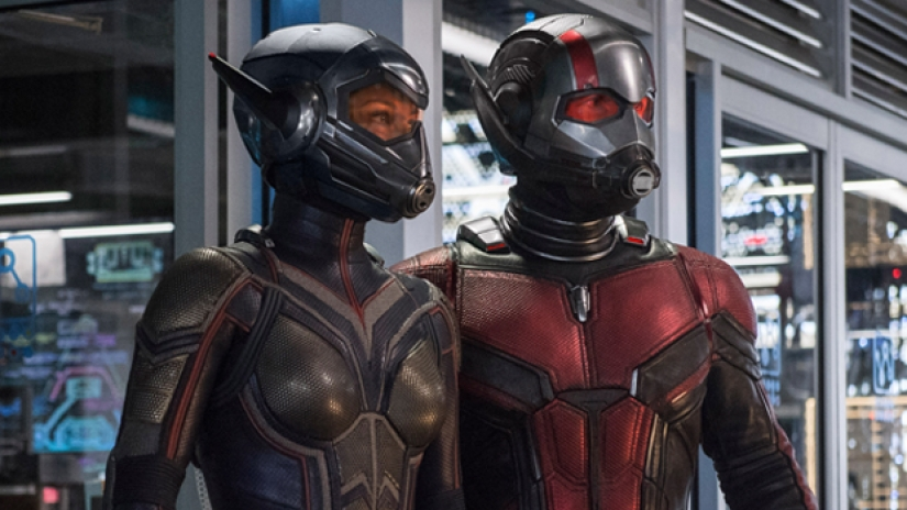 Ant Man and the Wasp movie in 2018
