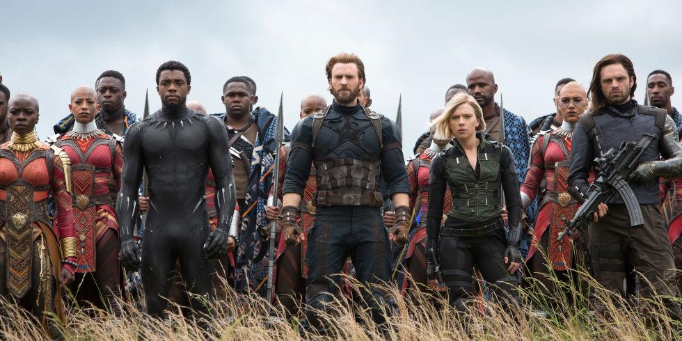 war in wakanda during avengers movie