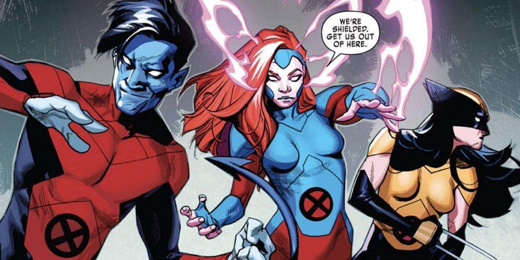 X-Men Red comics in 2018