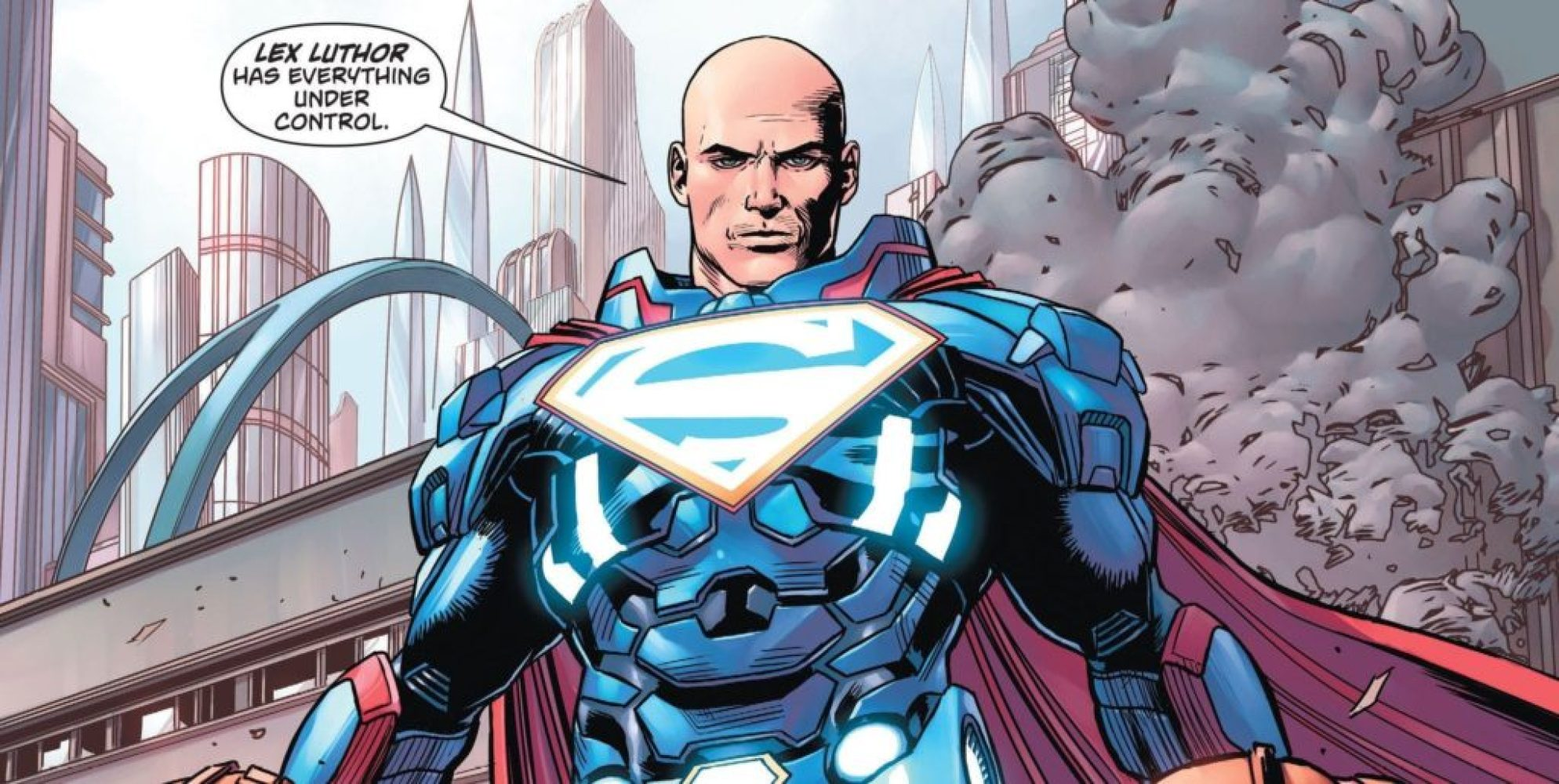 DC Rebirth's Lex Luthor is a hero