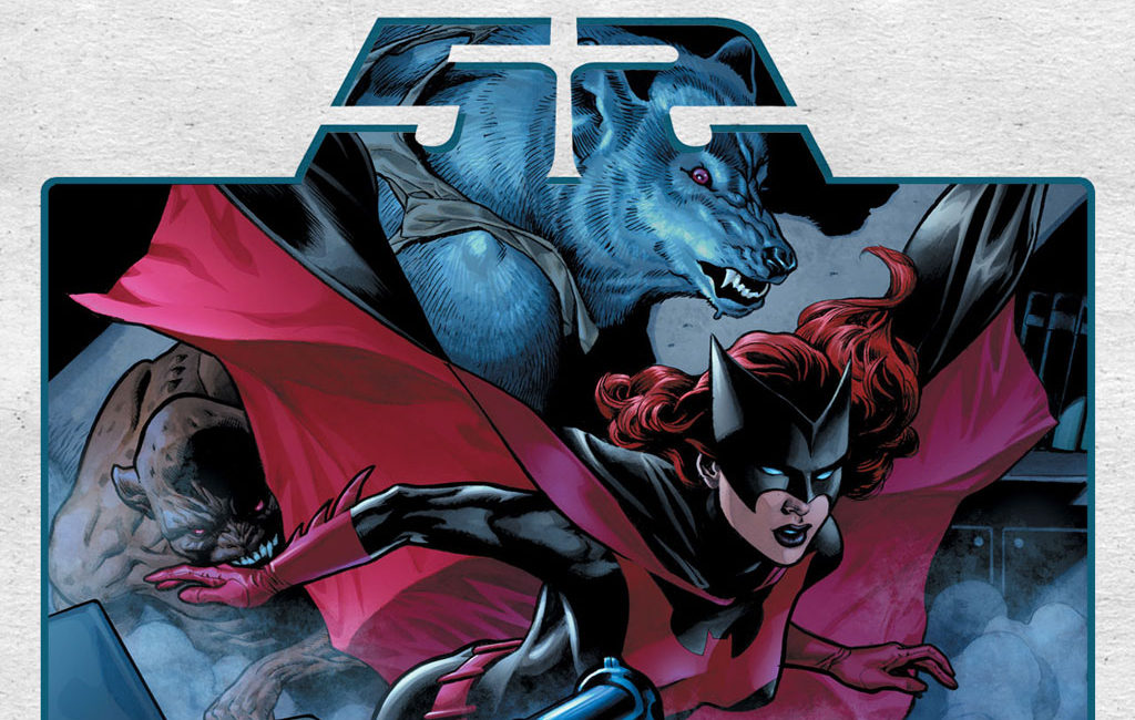 Batwoman in DC's 52 weekly comic book