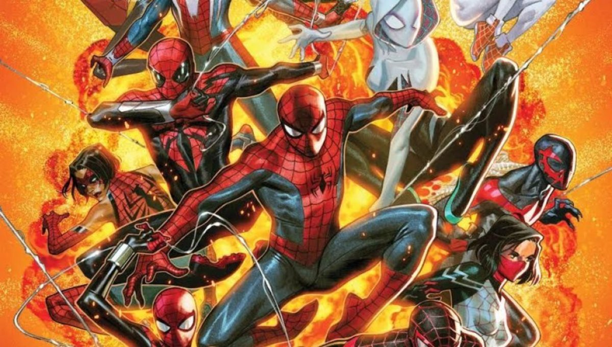 Marvel 2018 Spider-Geddon comic book event