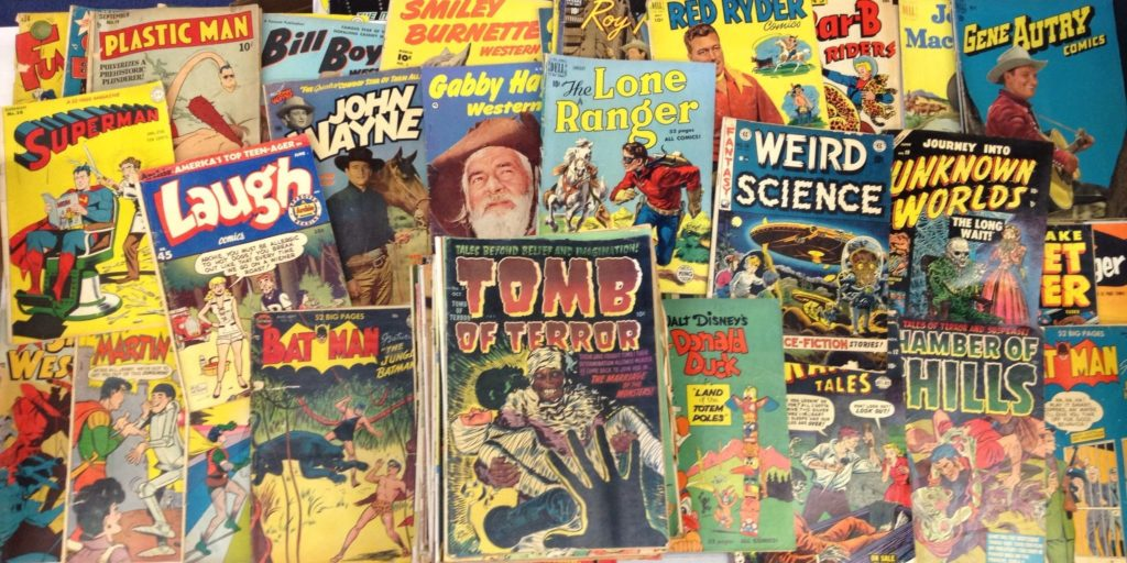 Collections of comics