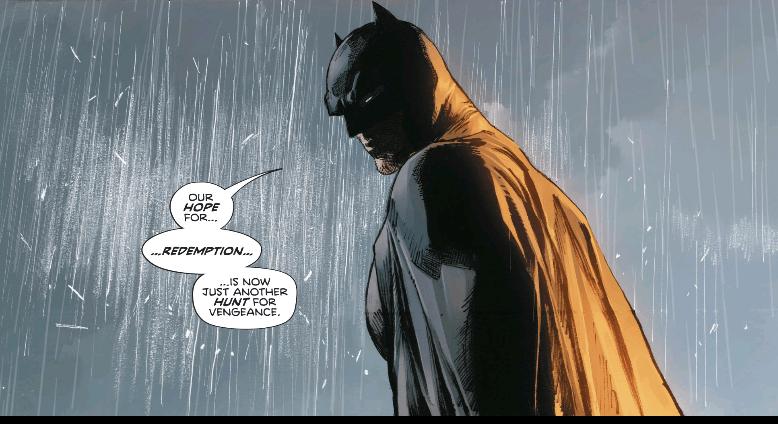 batman addresses the destruction of sanctuary in heroes in crisis