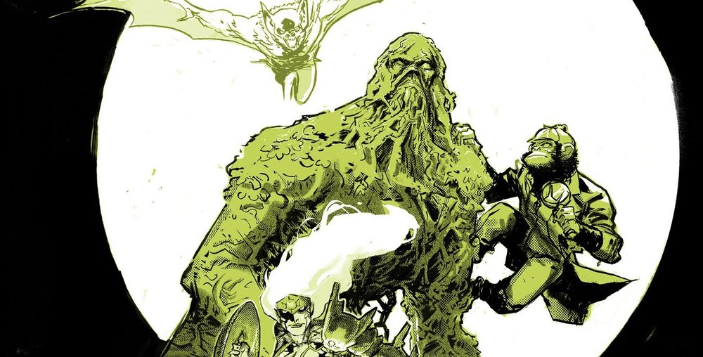 DC comics Wonder Woman and Justice League Dark crossover comics