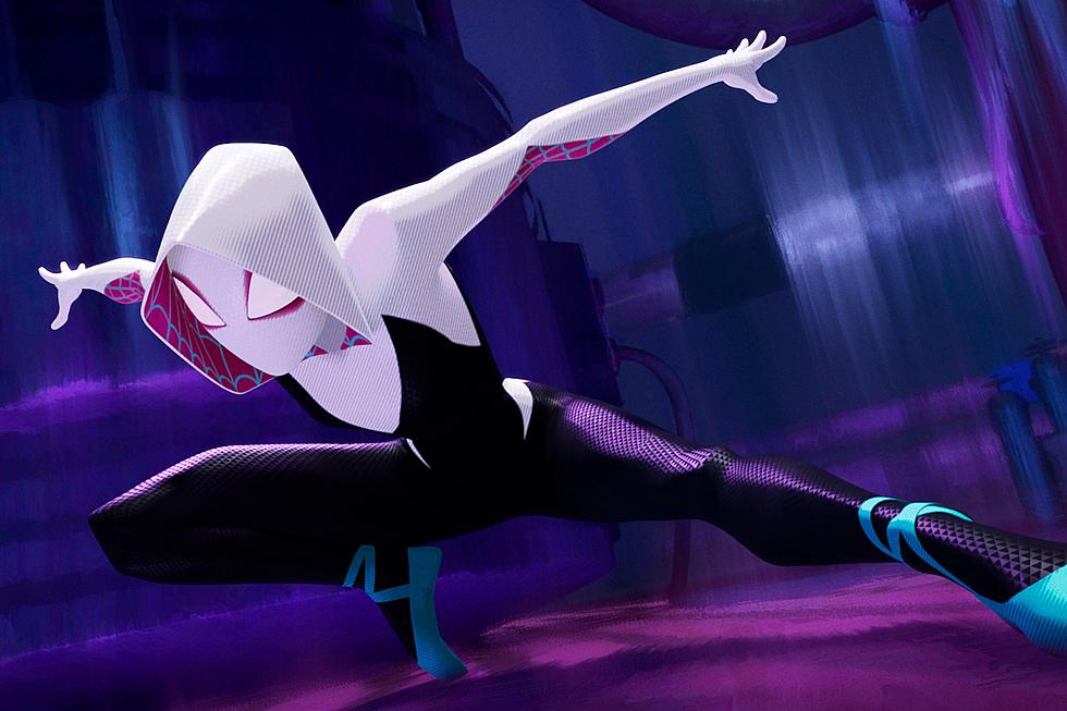 Spider Gwen in Into the Spider Verse