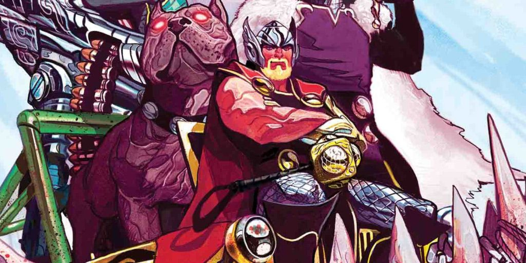 Mike Del Mundo art featuring Thor written by Jason Aaron