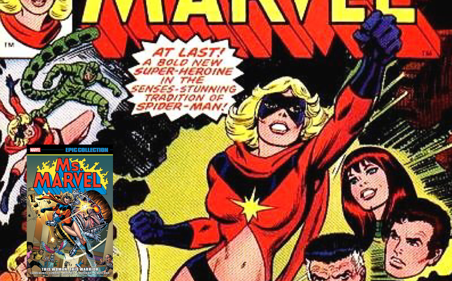 Ms Marvel debuts in Marvel Comics