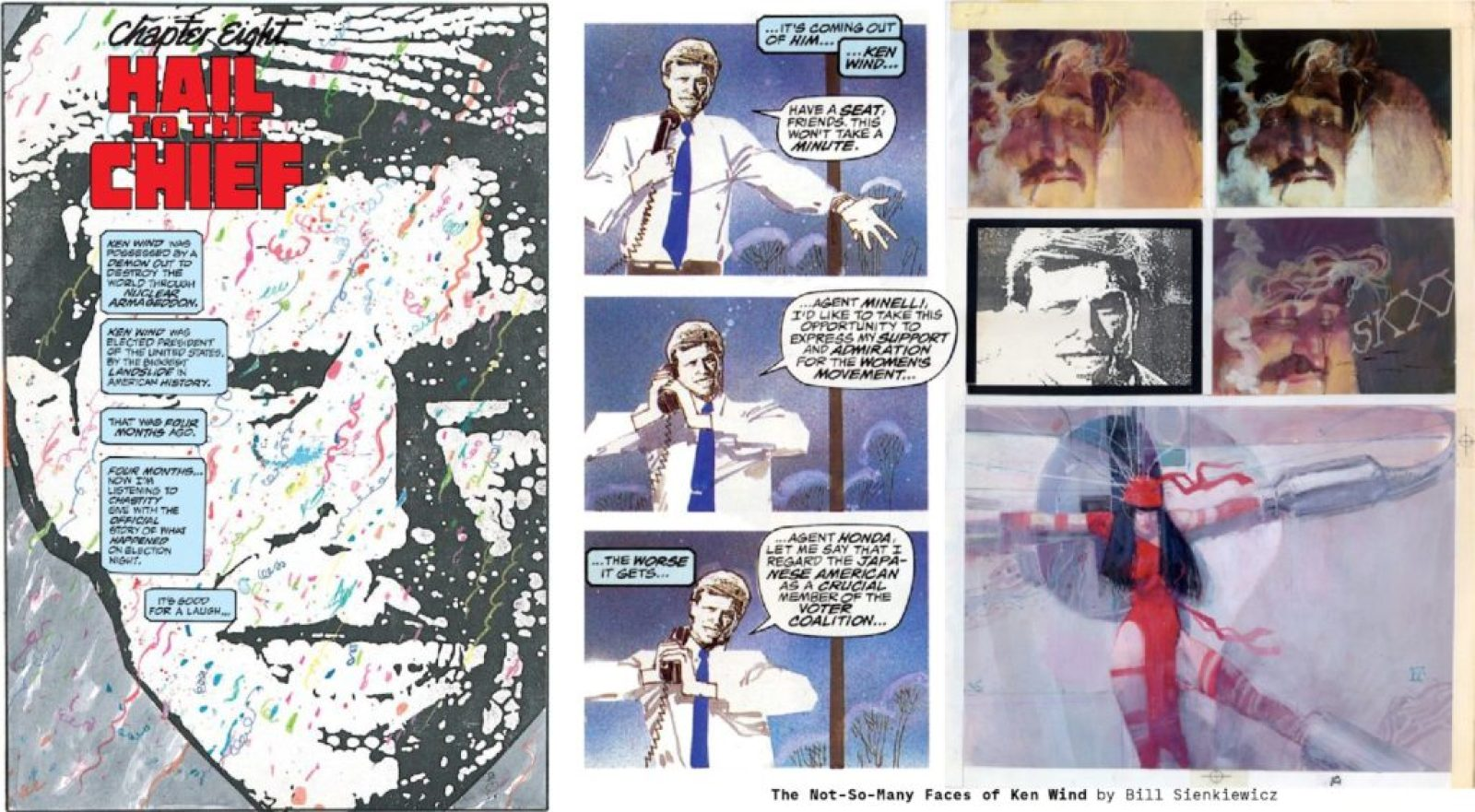 Politicians by Frank Miller and Bill Sienkiewicz
