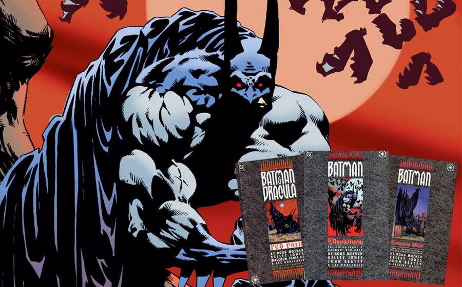 Vampire Batman comics