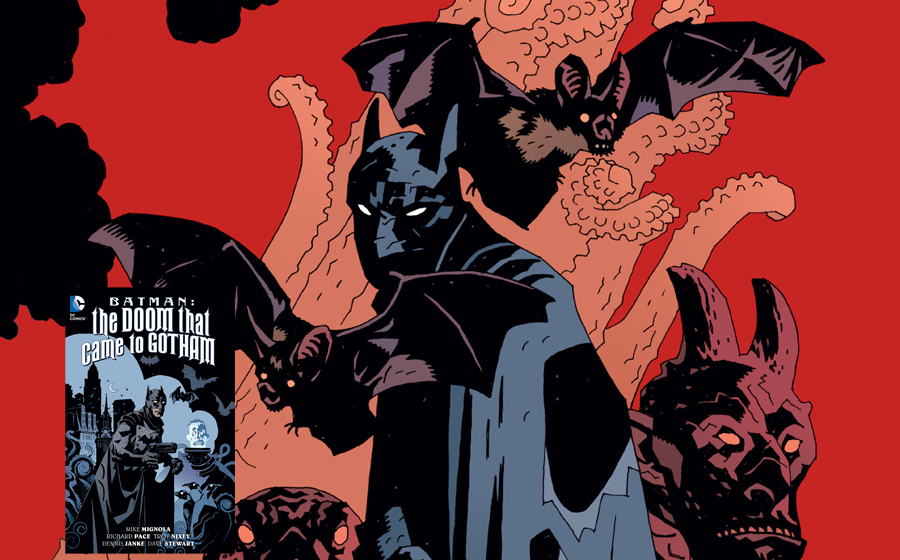 Batman in the Doom that came to Gotham