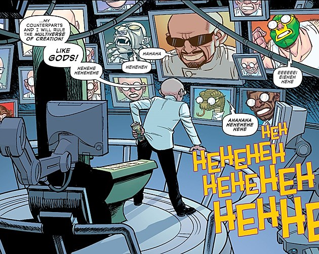 Dr. Sivana in Multiversity comic Thunderworld