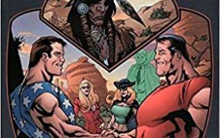Terra Obscura comics written by Alan Moore
