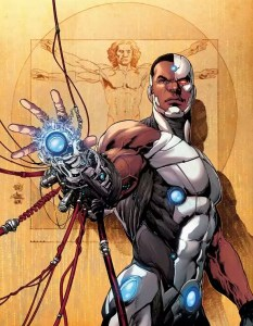 Cyborg #1 has artwork by Ivan Reis.