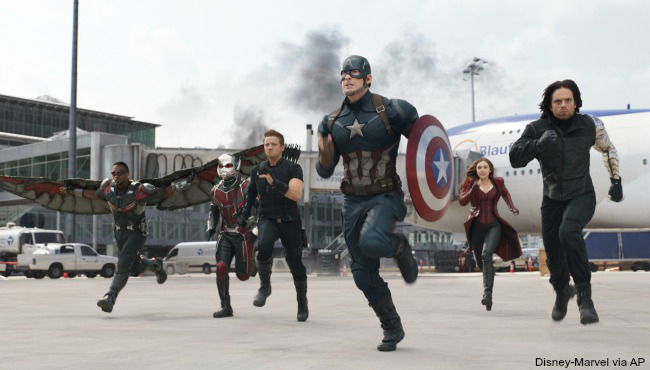 Movie Noise: Captain America: Civil War Parking Lot Review