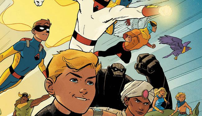 Comic Book Noise 706: Future Quest #1