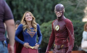 Supergirl and The Flash