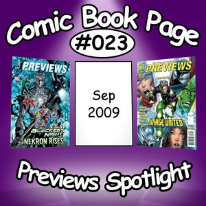 Previews Spotlight #023: 2009-09