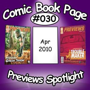 Comic Book Page Previews Spotlight #030