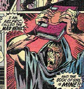 Image result for gerry conway the mad monk