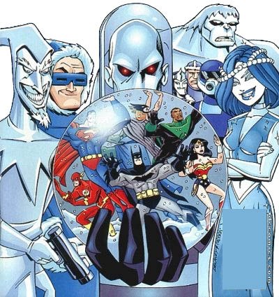 Image result for ice themed supervillains