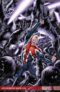 Captain Britain and MI-13 #8 Review