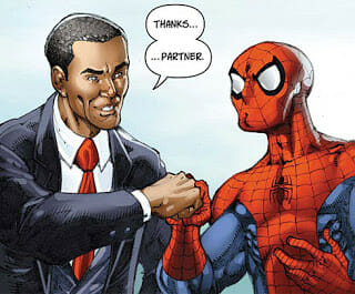 Barack Obama to appear in Amazing Spider-Man next week
